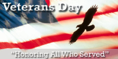 Happy Veterans Day 2016 from Leeds Water Works Board.  Freedom is never free and we appreciate the sacrifice and service from our Veterans!